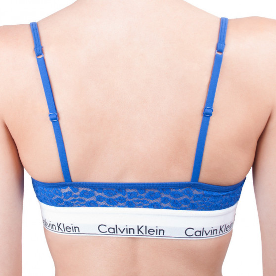 Dámská podprsenka Calvin Klein modrá (QF4691E-PZ6)