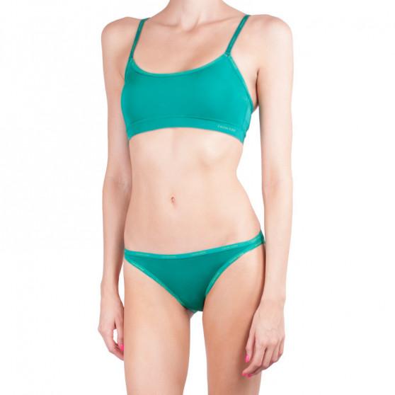 Dámská podprsenka Calvin Klein zelená (QF4527E-GXS)