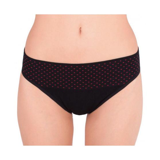 Dámské kalhotky Gina bambusové černé (00032)