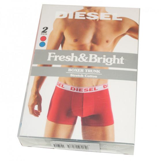 2PACK pánské boxerky Diesel vícebarevné (00S9DZ-0GAFM-06)