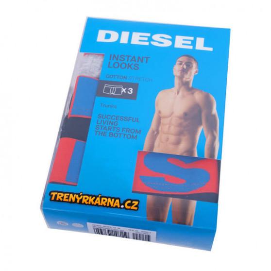 3PACK pánské boxerky Diesel vícebarevné (00SAB2-0GAPG-10)