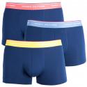 3PACK pánske boxerky Tommy Hilfiger tmavo modré (1U87903842 890)