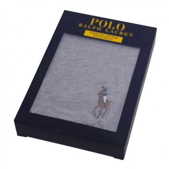 Pánské boxerky Ralph Lauren šedé (714715359003)