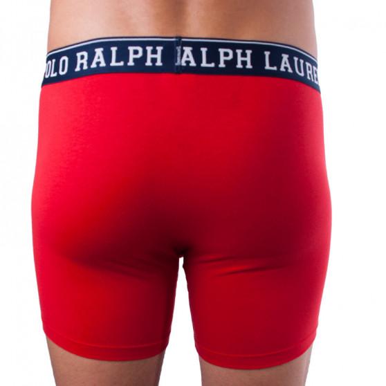 Pánské boxerky Ralph Lauren červené (714715359001)