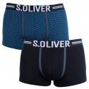 2PACK pánske boxerky S.Oliver viacfarebné (2R.895.97.4251 16D1)