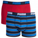 2PACK pánske boxerky Puma viacfarebné (671002001 542)