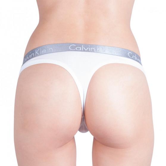 3PACK dámská tanga Calvin Klein vícebarevná (QD3590E-SHZ)