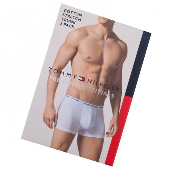 3PACK pánské boxerky Tommy Hilfiger bílé (1U87903842 100)