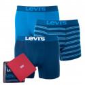3PACK pánske boxerky Levis viacfarebné (985026001 178)
