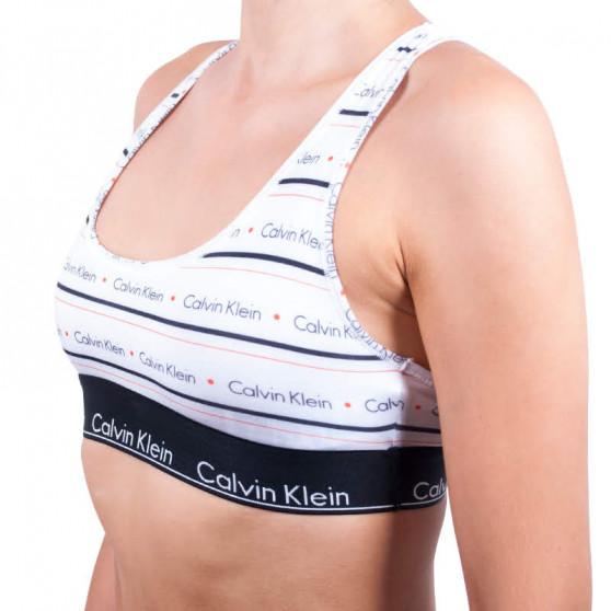 Dámská podprsenka Calvin Klein bílá (QF1659E-BWX)
