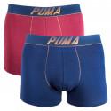 2PACK pánske boxerky Puma viacfarebné (681004001 544)