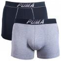 2PACK pánske boxerky Puma viacfarebné (681004001 977)