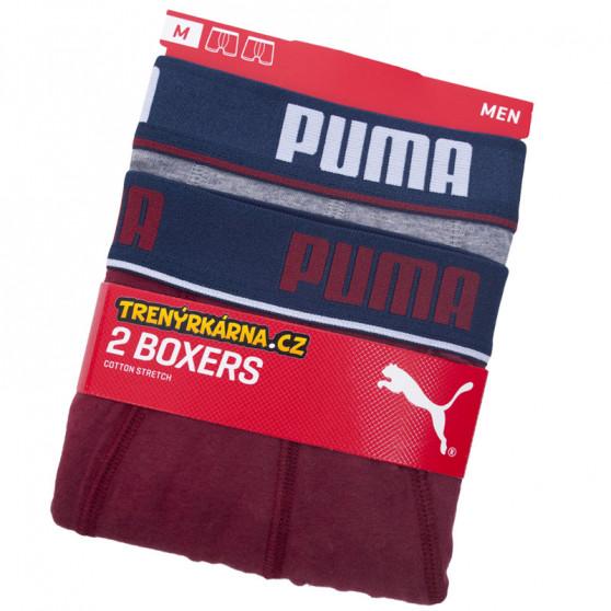 2PACK pánské boxerky Puma vícebarevné (671001001 070)