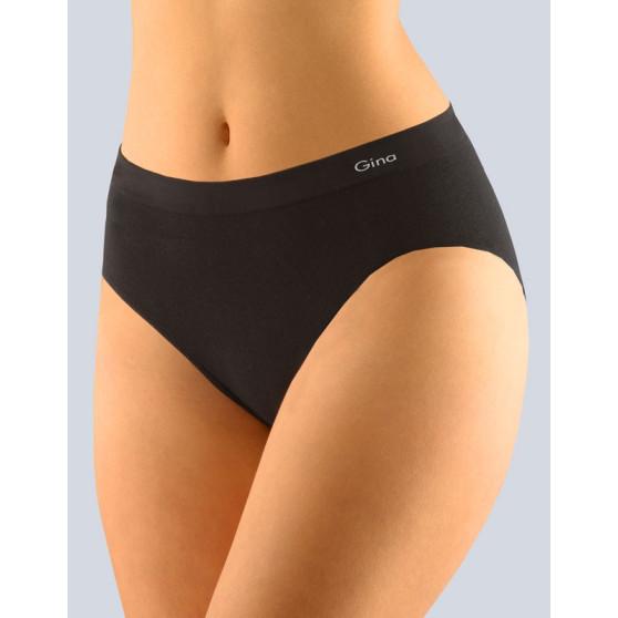 Dámské kalhotky Gina bezešvé černé (00008)