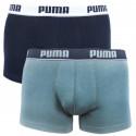 2PACK pánske boxerky Puma čierne sivé (671012001 315)