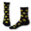 Dámské ponožky PHUSECKLE černé/červené/zelené