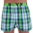 Pánske trenky Styx športová guma viacfarebné (B718)