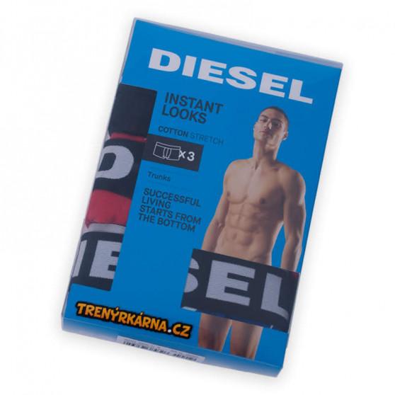 3PACK pánské boxerky Diesel vícebarevné (00SAB2-0BATE-E4031)