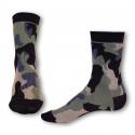 Ponožky Styx crazy kaki maskáč (H327)