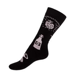 Ponožky Horsefeathers černé (AM021A)