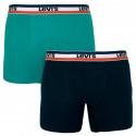 2PACK pánske boxerky Levis viacfarebné (985016001 315)
