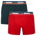 2PACK pánske boxerky Levis viacfarebné (985016001 786)