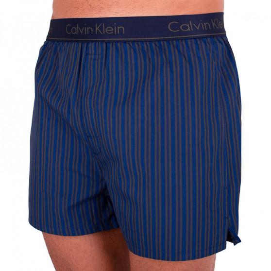 Pánské trenky Calvin Klein modré (NB1524A-4NS)