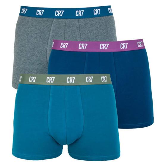 3PACK pánské boxerky CR7 vícebarevné (8100-49-647)