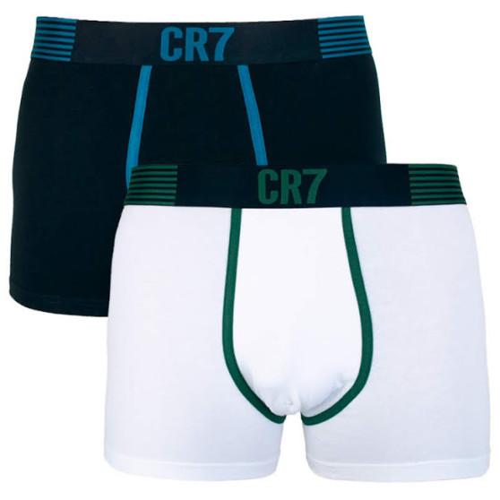 2PACK pánské boxerky CR7 vícebarevné (8302-49-537)