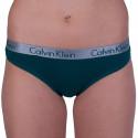 Dámske nohavičky Calvin Klein zelené (QD3540E-DKC)