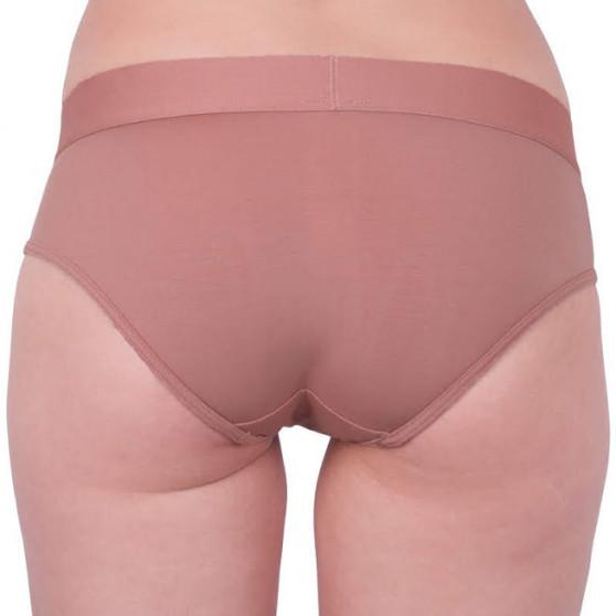 Dámské kalhotky Calvin Klein hnědé (QF4944E-YUT)
