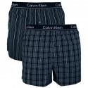 2PACK pánske trenky Calvin Klein slim fit viacfarebné (NB1544A-KGW)