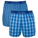 2PACK pánske trenky Calvin Klein slim fit viacfarebné (NB1544A-LGW)