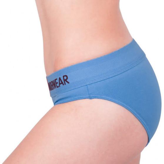 Dámské kalhotky Calvin Klein modré (QF4921E-PWB)