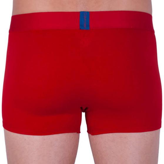 Pánské boxerky Calvin Klein červené (NB1680A-RYM)