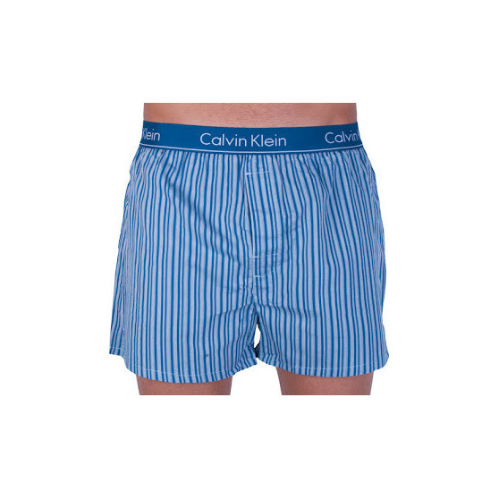 Pánské trenky Calvin Klein modré (NB1524A-2NQ)