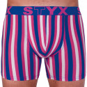 Pánske boxerky Styx long športová guma viacfarebné (U864)