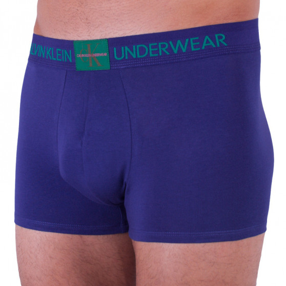 Pánské boxerky Calvin Klein modré (NB1678A-XS6)