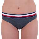 Dámske nohavičky Tommy Hilfiger sivé (UW0UW01067 091)