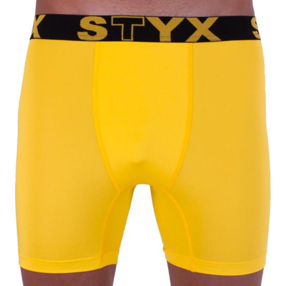 Pánské funkční boxerky Styx žluté (W963)