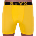 Pánske funkčné boxerky Styx žlté (W963)