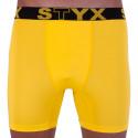 Pánske funkčný boxerky Styx žlté (W963)