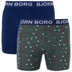 2PACK pánské boxerky Bjorn Borg vícebarevné (1841-1246-81081)