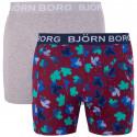 2PACK pánske boxerky Bjorn Borg viacfarebné (1841-1204-40501)