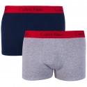 2PACK pánske boxerky Calvin Klein viacfarebné (NB1463A-JDY)