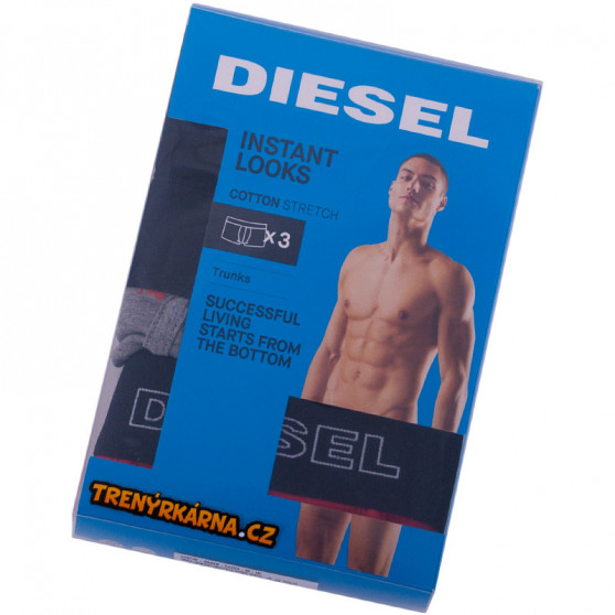 3PACK pánské boxerky Diesel vícebarevné (00ST3V-0AAVK-E4204)