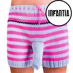 Ručně pletené trenky Infantia (PLET133)