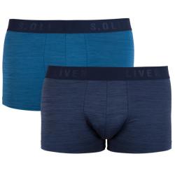 2PACK pánské boxerky S.Oliver modré (26.899.97.4238.68W1)
