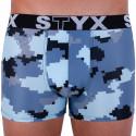 Pánske boxerky Styx art športová guma maskáč digital (G657)