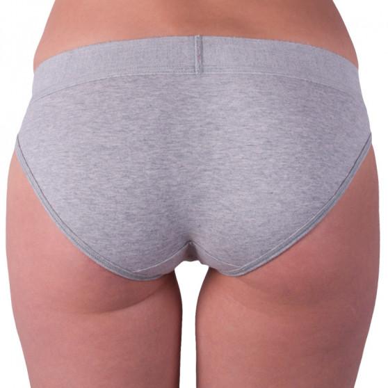 Dámské kalhotky Calvin Klein šedé (QF4921E-020)